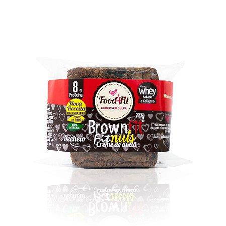 Brownie FitNuts (70g) – Food4fit