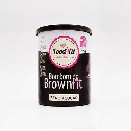 Amor em Lata Bombom de Brownfit Sem Açúcar - (250g) Food4Fit
