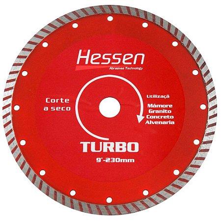 Disco Diamantado 230mm x 10mm Turbo 13499