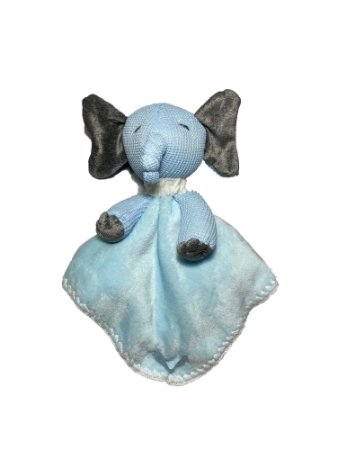 Naninha Bebê Elefante Azul Lessa Kids