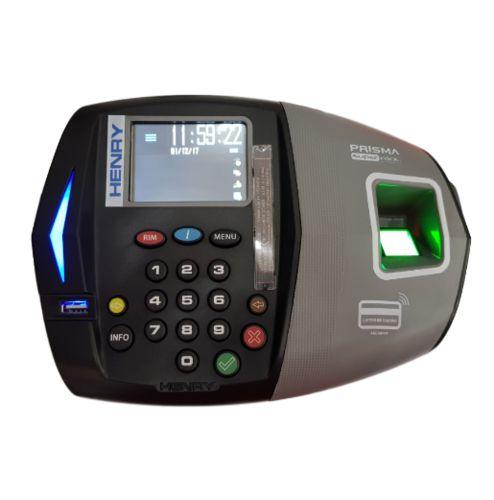 Relógio de Ponto Biométrico INMETRO Henry Prisma ADV