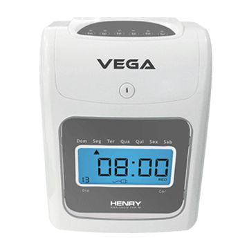 Relógio de Ponto Cartográfico Vega + 50 cartões de cartolina grátis
