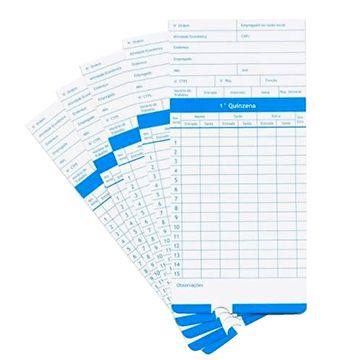 Cartão Ponto de Cartolina - Modelo Vega e Velti S210 - 100 unidades