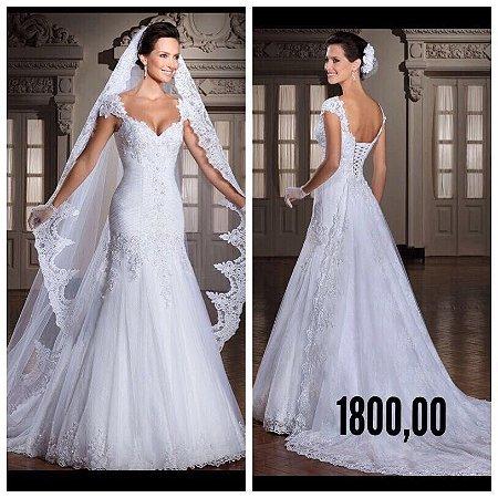 Vestido de noiva Five