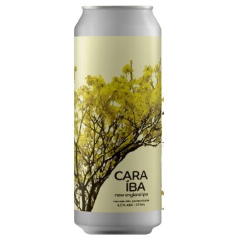 Cerveja Tábuas Caraíba New England IPA Lata - 473ml