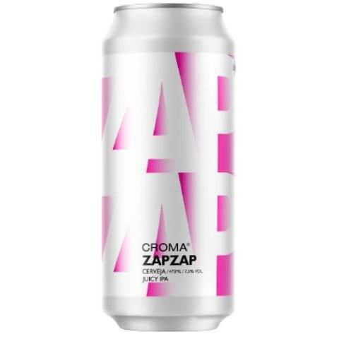 Cerveja Croma ZapZap Juicy IPA Lata - 473ml