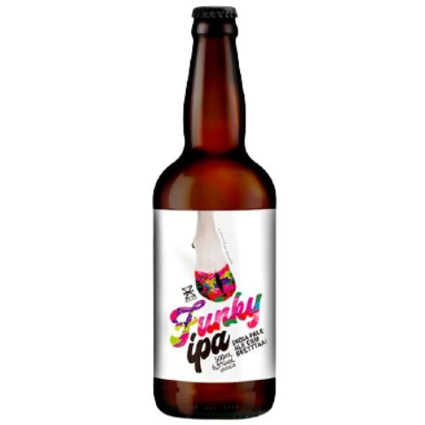 Cerveja Zalaz Funky IPA Brett IPA - 500ml