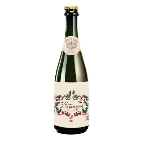 Cerveja HopMundi Botanique Noir Wild Sour Barrel Aged C/ Uva Pinot Noir Rose - 375ml