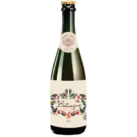 Cerveja HopMundi Botanique Peche 2021 Wild Sour Barrel Aged C/ Pêssegos - 375ml