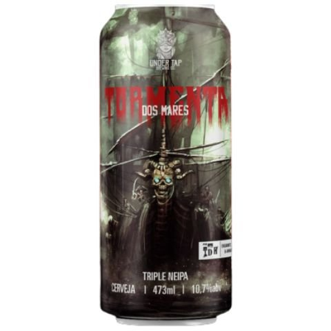 Cerveja Under Tap Tormenta dos Mares Triple NEIPA Lata - 473ml
