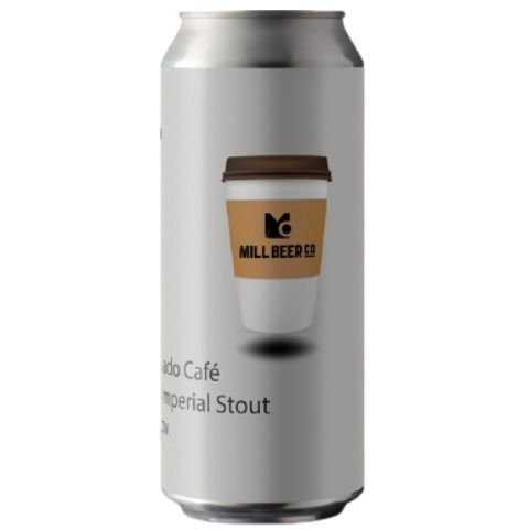 Cerveja Mill Beer Co Peso Pesado Café Russian Imperial Stout C/ Café Bourbon Barrel Aged Lata - 473ml