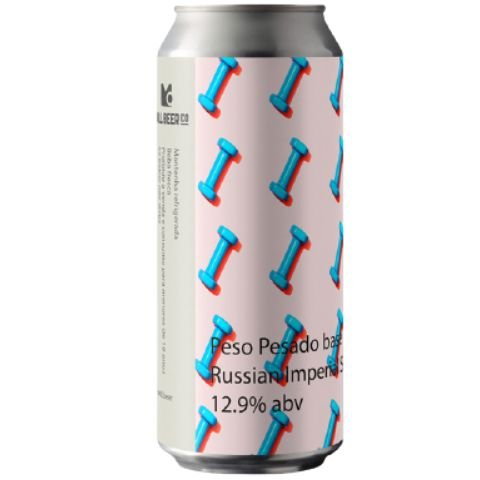 Cerveja Mill Beer Co Peso Pesado Russian Imperial Stout Lata - 473ml