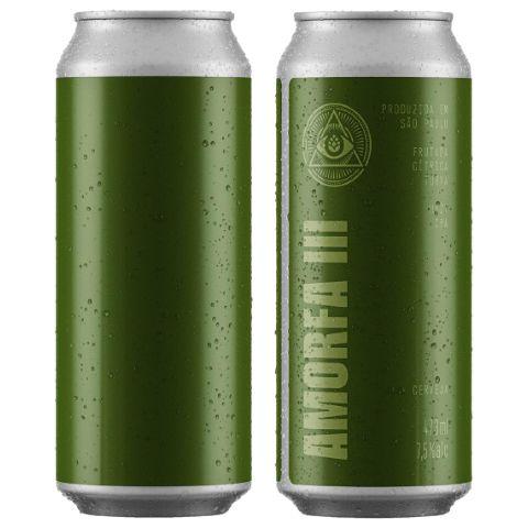 Cerveja Dogma Amorfa III Hazy IPA Lata - 473ml