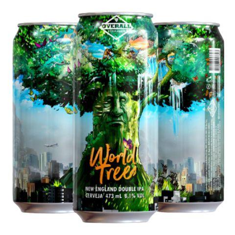 Cerveja Overall World Tree New England Double IPA Lata - 473ml