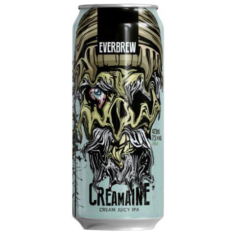Cerveja EverBrew CreaMaine Cream Juicy IPA Lata - 473ml