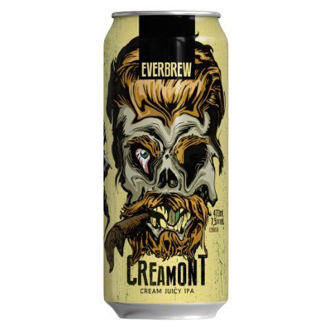 Cerveja EverBrew CreaMont Cream Juicy IPA Lata - 473ml