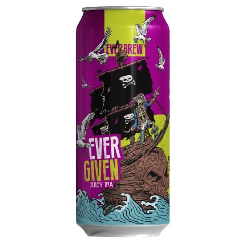 Cerveja EverBrew Ever Given Juicy IPA Lata - 473ml