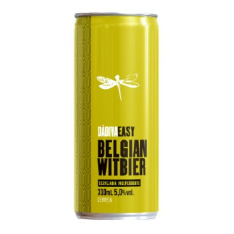 Cerveja Dádiva Easy Belgian Witbier Lata - 310ml