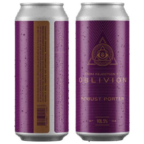 Cerveja Dogma From Rejection To Oblivion IV Robust Porter Lata - 473ml