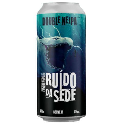 Cerveja Under Tap + Dear Hop Ruído da Sede Double NEIPA Lata - 473ml