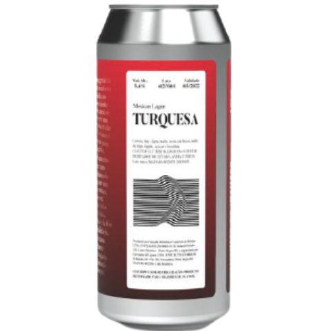 Cerveja Devaneio do Velhaco Turquesa Mexican Lager Lata - 473ml