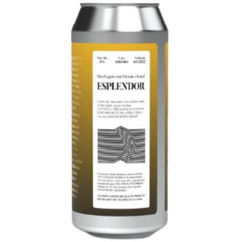 Cerveja Devaneio do Velhaco Esplendor Rice Lager Lata - 473ml