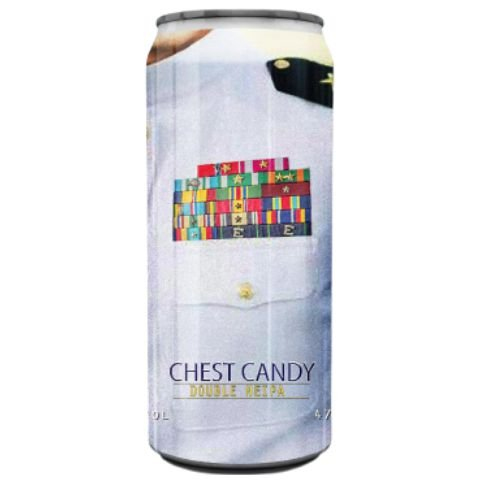 Cerveja Spartacus Chest Candy Double NEIPA Lata - 473ml