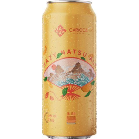 Cerveja Japas + Carioca Brewing Co Hazy Natsu Ale New England Summer Ale Lata - 473ml