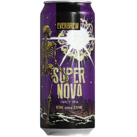 Cerveja EverBrew Supernova Juicy IPA Lata - 473ml