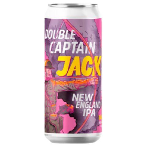 Cerveja Salvador Brewing Co Double Captain Jack Double New England IPA Lata - 473ml
