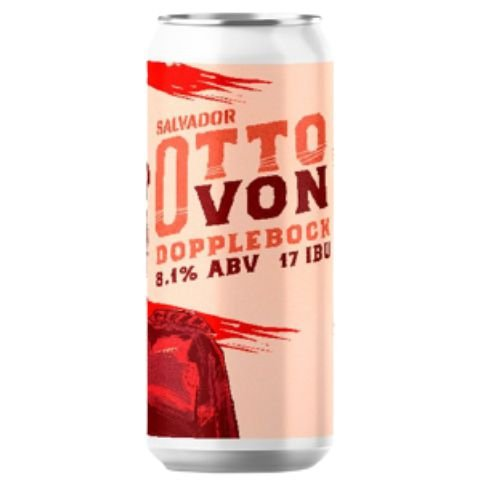 Cerveja Salvador Brewing Co Otto Von Doppelbock Lata - 473ml