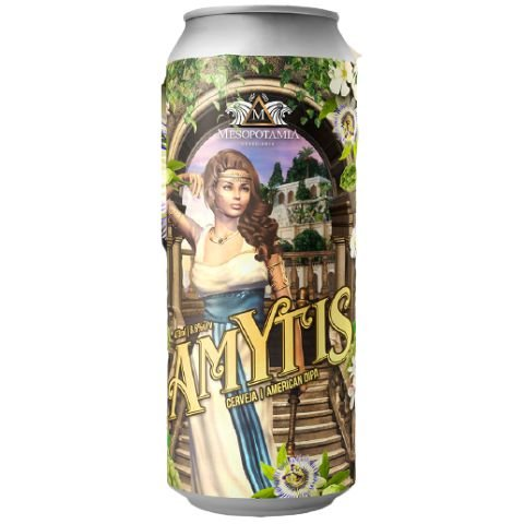 Cerveja Mesopotamia Amytis Double New England IPA Lata - 473ml