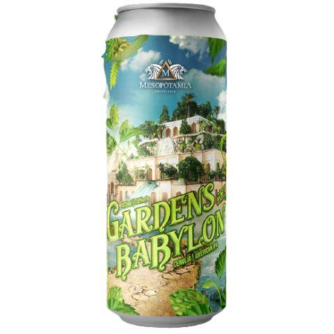Cerveja Mesopotamia Gardens Of Babylon New England IPA Lata - 473ml