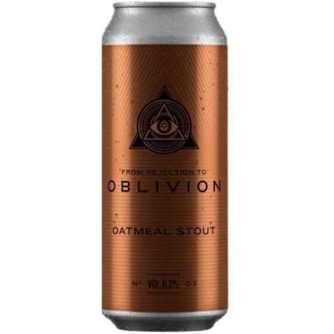 Cerveja Dogma From Rejection To Oblivion III Oatmeal Stout Lata - 473ml