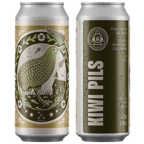 Cerveja Dogma + Avós Kiwi Pils New Zealand Pils Lata - 473ml