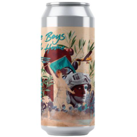 Cerveja Octopus + Salvador Brewing Co Bring The Boys Back Home Triple West Coast IPA Lata - 473ml