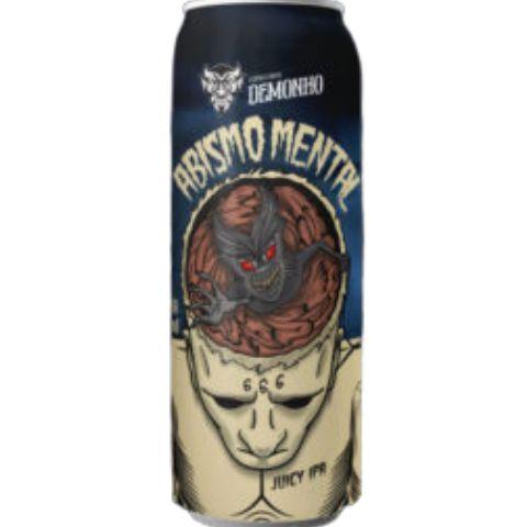 Cerveja Demonho Abismo Mental Juicy IPA Lata - 473ml