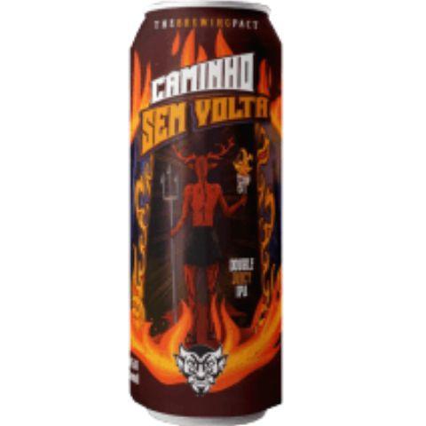 Cerveja Demonho Caminho Sem Volta Double Juicy IPA Lata - 473ml