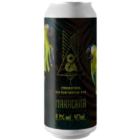Cerveja Oca Maracanã Double New England IPA Lata - 473ml