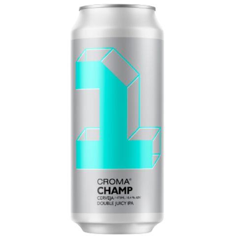 Cerveja Croma Champ Double Juicy IPA Lata - 473ml
