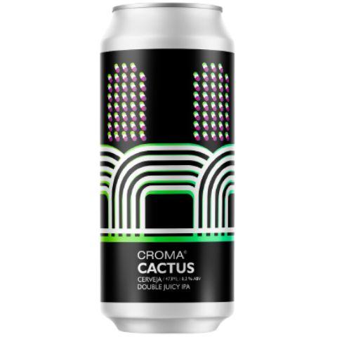 Cerveja Croma Cactus Double Juicy IPA Lata - 473ml