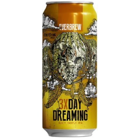 Cerveja EverBrew 3X Day Dreaming Triple Juicy IPA Lata - 473ml