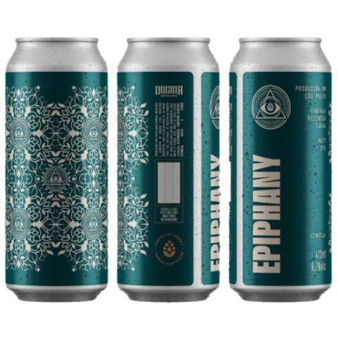 Cerveja Dogma Epiphany Hazy IPA Lata - 473ml