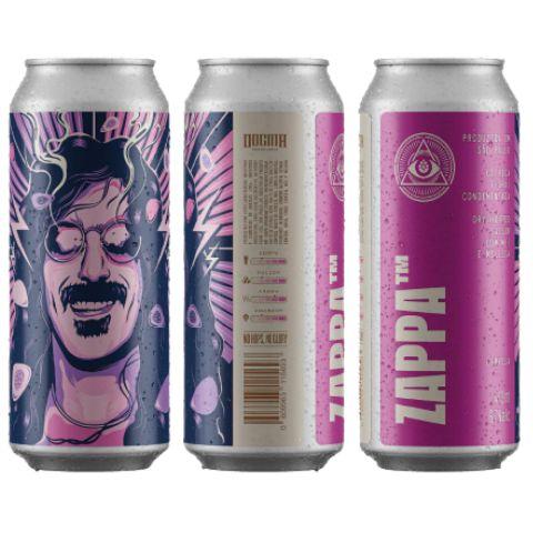 Cerveja Dogma Zappa Dry Hopped Saison C/ Mel, Maracujá e Melissa Lata - 473ml