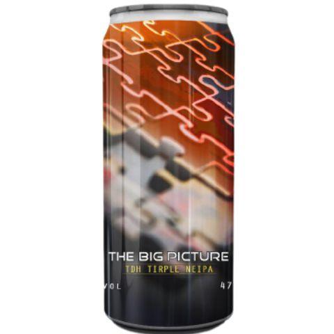Cerveja Spartacus The Big Picture TDH Triple NEIPA Lata - 473ml