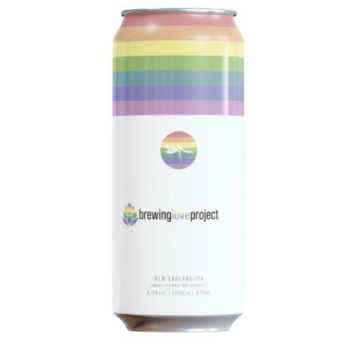 Cerveja Dádiva Brewing Love Project New England IPA Lata - 473ml