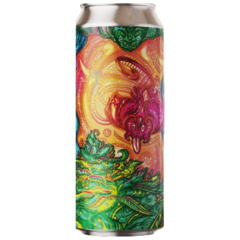 Cerveja Fermi O Haka Hash Double Hazy IPA Lata - 473ml