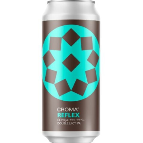 Cerveja Croma Reflex Double Juicy IPA Lata - 473ml