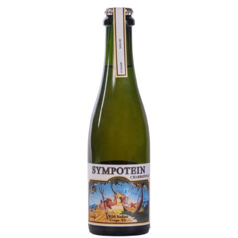 Cerveja CozaLinda + Donner Sympotein 2020 - Chardonnay Wild Italian Grape Ale - 375ml