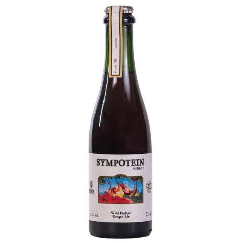 Cerveja CozaLinda + Donner Sympotein 2020 - Merlot Wild Italian Grape Ale - 375ml